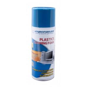 ESPERANZA Αφρός καθαρισμού ES104 για πλαστικές επιφάνειες, 400ml
