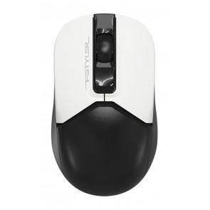 A4TECH ασύρματο ποντίκι Fstyler FG12, 1200DPI, 3 πλήκτρα, λευκό-μαύρο