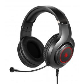 BLOODY Headset G200, 3.5mm, 50mm ακουστικά, HiFi stereo, μαύρα
