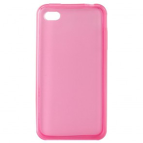 Θήκη TPU Ultra Slim 0,5mm για iPhone 4/4S, Pink
