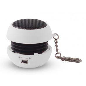 SETTY Speaker Pocket, 2.5Watt, 3.5mm jack, 180mAh, White