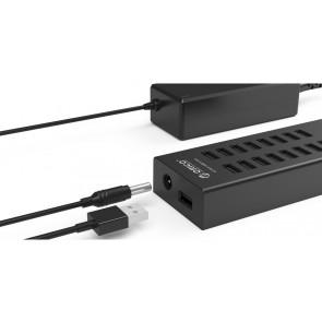 ORICO USB 2.0 Hub H1613-U2, 16x USB ports, μαύρο
