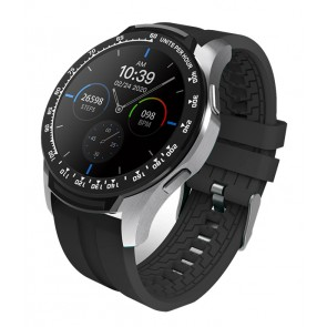 """HIFUTURE Smartwatch HiFIT, 1.28"""" LCD, IP67, heart rate monitor, μαύρο"""