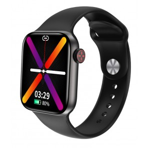 """HIFUTURE smartwatch HiTIME, 1.75"""", IP68, heart rate monitor, μαύρο"""