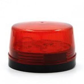 Strobe εσωτερικών & εξωτερικών χώρων, LED, 12V, Red