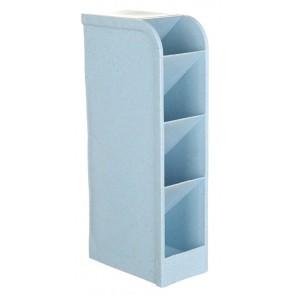 Μολυβοθήκη HUH-0004, 20.5 x 9.2 x 5.1cm, μπλε
