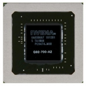 NVIDIA BGA IC Chip 8800M GTS G92-700-A2 512MB, 256Bits, with Balls