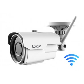LONGSE IP WiFi Bulet Κάμερα IPP-003 1080p, 2.8-12mm, metal, αδιάβροχη