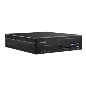 Shuttle Barebone DH410S Black