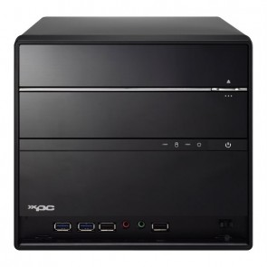 Shuttle Barebone SH370R6V2 Plus Black LGA1151v2