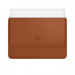 Apple MacBook Pro 13 Leather Sleeve saddle brown