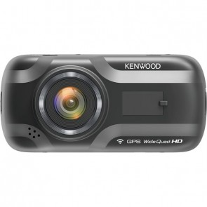 "KENWOOD DRV-A501W WideQuad Dashcam 3.0"" with GPS & WiFi black"