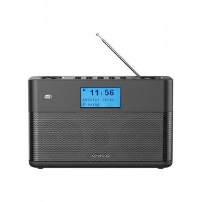 KENWOOD CR-M10DAB DAB+ Radio with Bluetooth/FM black
