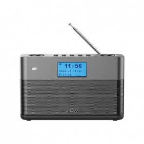 KENWOOD CR-M10DAB DAB+ Radio with Bluetooth/FM black/grey