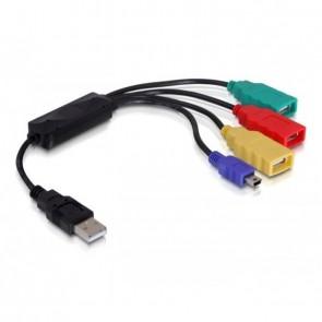 Delock USB 2.0 External 4-Port Cable Hub