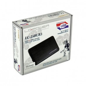 "USB Case SATA-HDD 2.5""Alu USB3.0 LC-POWER black"