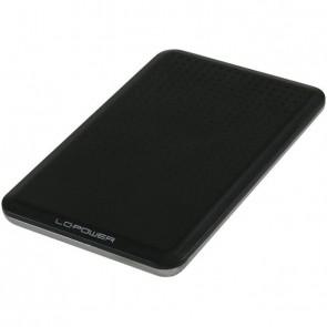 "USB Gehäuse SATA-HDD 2.5""Alu USB3.0 LC-POWER black"