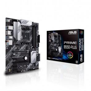 ASUS PRIME B550-PLUS AM4 B550//M.2/ATX PCI-Express 4.0 Support