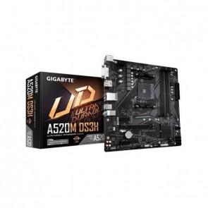GIGA A520M DS3H AM4/DDR4/DVI-HDMI-DP/µATX