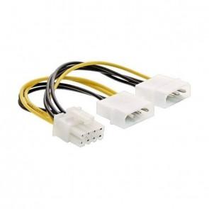 "inLine ATX Stromadapter 2x 5.25"" -> 8-pin (PCIe)"
