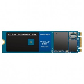 WD SSD M.2 (2280) 500GB Blue NVMe (Di) NVMe nicht für Win 7 geeignet/ Not eligible for W7