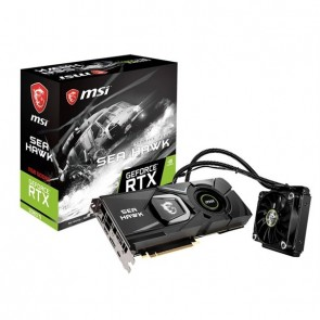 MSI VGA 11GB RTX2080TI SEA HAWK X 3xDP/HDMI