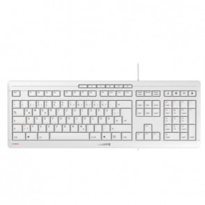 Cherry Keyboard STREAM [FR] pale grey