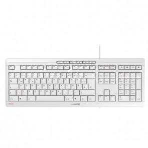 Cherry Keyboard STREAM [DE] pale grey