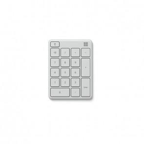 Microsoft Wireless Number Pad Monza Grau