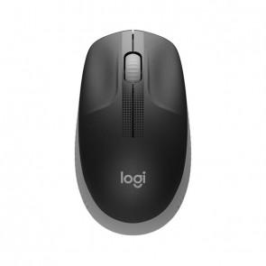 Logitech Mouse M190 Wireless FULL-SIZE grey für mittelgroße bis große Hände
