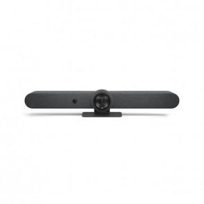 Logitech Webcam RALLY Bar Conference Set Graphite All-in-one-Videobar für mittelgroße Räume