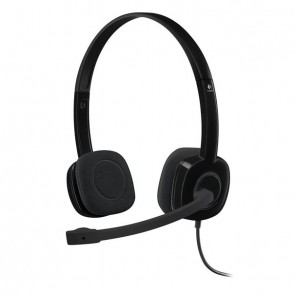 Logitech Headset H151 2.0 Klinke black