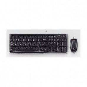 Logitech Desktop MK120 [FR] black/noir