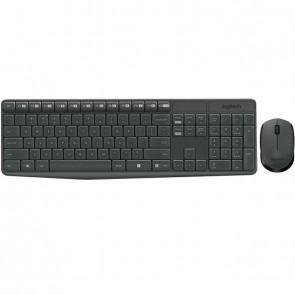 Logitech Desktop MK235 Wireless [DE] dark grey