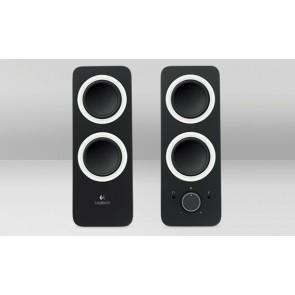 Logitech Speaker Z200 2.0 Klinke black