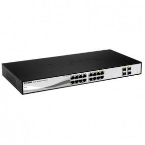 """D-Link Switch DGS-1210-16 16xGBit/4xSFP 19"""" Man"""