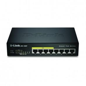 D-Link Switch 8 Port GBit Layer2 (4xPoE) DGS-1008P
