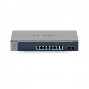 Netgear 10Port Switch 100/1000/10000 MS510TXUP 8-Port Multi-Gb/10G Eth Ultra60 PoE++ Smart Mngd
