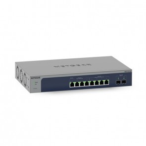 Netgear 10Port Switch 100/1000/10000 MS510TXM 8-Port Multi-Gigabit/10G Ethernet Smart Managed Pr