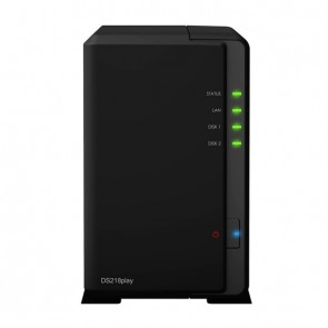 Synology NAS Disk Station DS218play (2 Bay)
