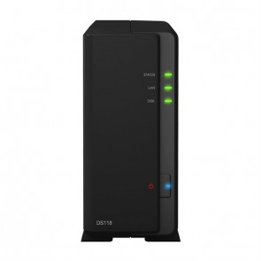 Synology NAS Disk Station DS118 (1 Bay)