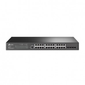 TP-LINK Switch TL-SG3428 24xGBit/4xSFP Managed