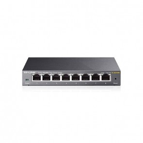 TP-LINK Switch TL-SG108E 8xGBit Unmanaged Metallg.