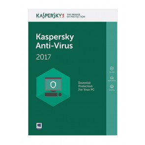 KASPERSKY Anti-Virus 2017 (1 Άδεια, 1 έτος), EU