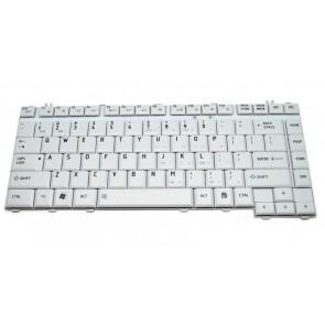 Πληκτρολόγιο Αντ. Για Toshiba Satellite A200 A205 A210 Series US Άσπρο