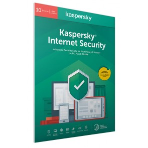 KASPERSKY Internet Security KL1939U5KFS-20FFPDSG, 10 συσκευές 1 έτος, EU