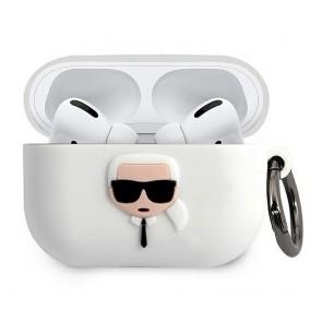 Original  case KARL LAGERFELD KLACAPSILGLWH Apple Airpods Pro white