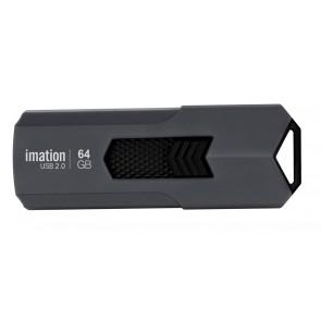 IMATION USB Flash Drive Iron KR03020047, 64GB, USB 2.0, γκρι
