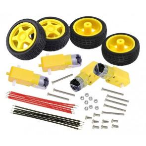 KEYESTUDIO motor wheel kit για smart car KS0324