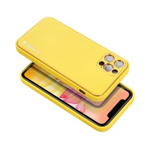 Forcell LEATHER Case for SAMSUNG Galaxy A72 ( 4G ) yellow